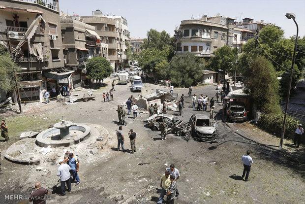 انفجار انتحاری در دمشق