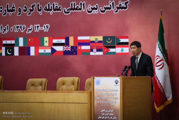 Intl. conf. on dust storms opens in Tehran