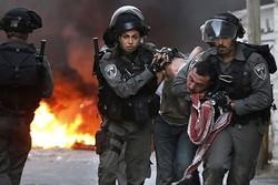 بازداشت فلسطینیان در کرانه باختری توسط صهیونیستها