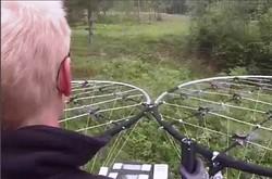 فیلمی از آزمایش وسیله نقلیه پرنده