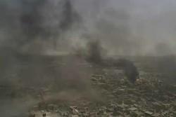 Operasyon ardından Musul kentine gökten bir bakış