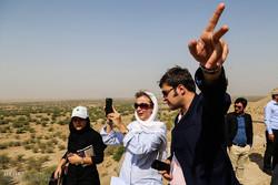 بازدید از تالاب هور العظیم و کانون های گرد وخاک