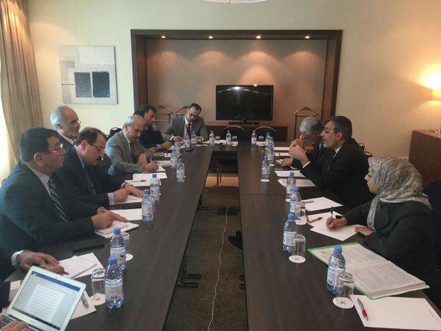 Jaberi Ansari meets Syrian, Russian officials in Astana