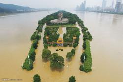 وقوع سیل در جنوب چین