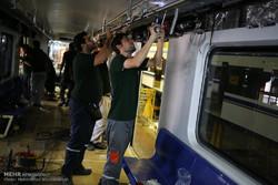 بازدید اهالی رسانه از کارخانه واگن سازی مترو