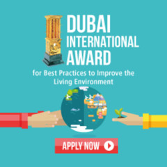 Dubai Intl. award for best practices in association with UN-Habitat