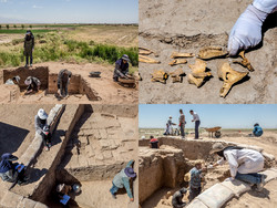 A photo collection depicts younger generation of Iranian archeologists and researchers conducting their second season of excavations at the Iron Age site of Seh Tappeh near Neyshabur city in northeast