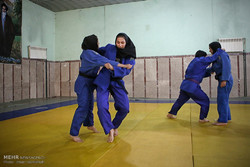 تمرین تیم ملی جودوی بانوان
