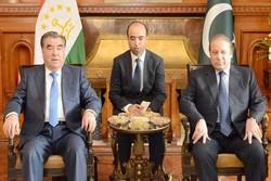 محورهای دیدار مقامات تاجیکستان و پاکستان/ مبارزه مشترک با تروریسم