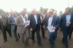 استاندار کرمانشاه از بخش کوزران در کرمانشاه بازدید کرد
