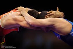 نخستین روز از رقابتهای انتخابی تیم های ملی کشتی آزاد و فرنگی