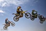مسابقات کشوری موتور کراس در همدان