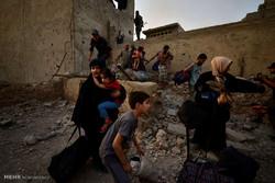 تسخیر آخرین مواضع تروریست ها در موصل