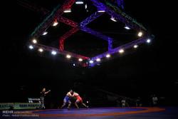 دومین روز رقابتهای انتخابی تیم های ملی کشتی آزاد و فرنگی