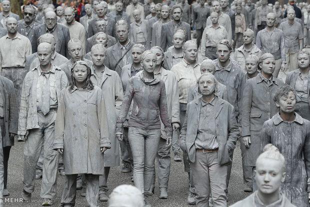 "G-20 toplantısına ""Zombi"" protestosu"