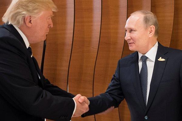 دیدار پوتین و ترامپ