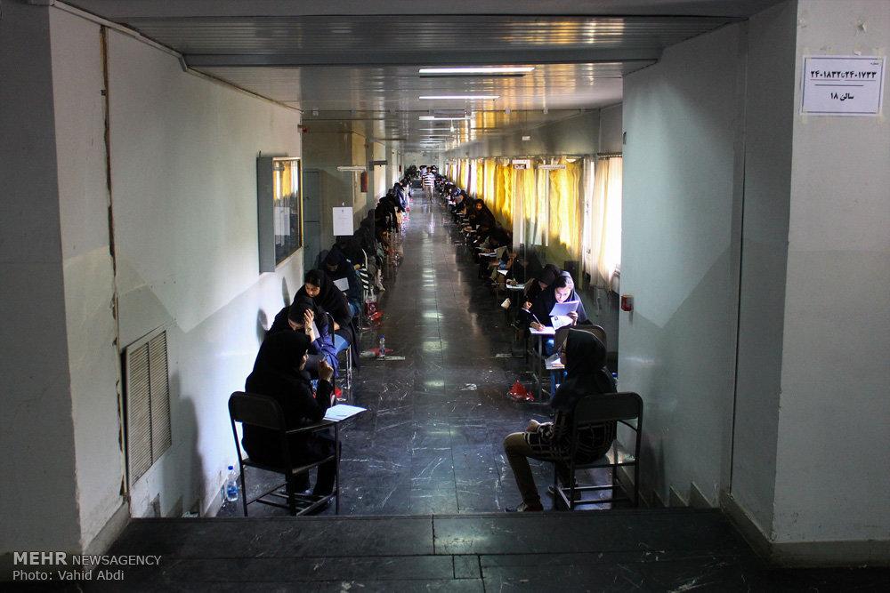 ۵ آزمون علوم پزشکی همزمان برگزار شد/ رقابت هزار و ۱۰۰ داوطلب