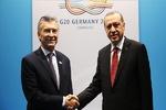 رؤسای جمهور ترکیه و آرژانتین دیدار کردند