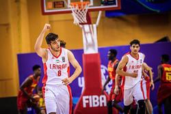 """ايران تفوز على الصين في بطولة """"اطلس سبورت"""" الدولية لكرة السلة"""