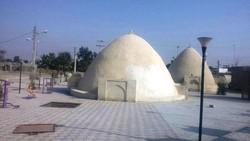 Centuries-old cisterns on Iran's Qeshm Island, southern Iran