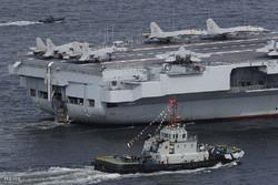 فلم/ طیارہ بردار بحری کشتی سے جنگی طیارے کی پرواز