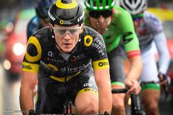 فرانس میں سائیکل ریس کا مقابلہ
