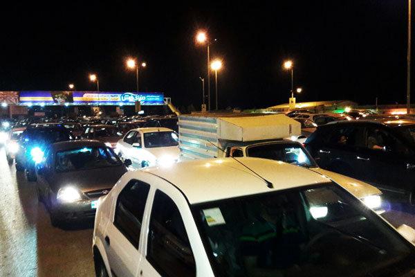 ترافیک شدید در خیابانهای کرج به دنبال وقوع زلزله
