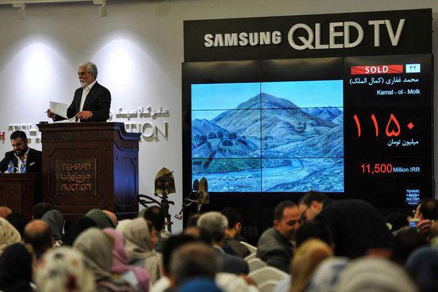 دو اثر از کمالالملک و بهجت صدر از حراج تهران به گنجینه موزه رفت