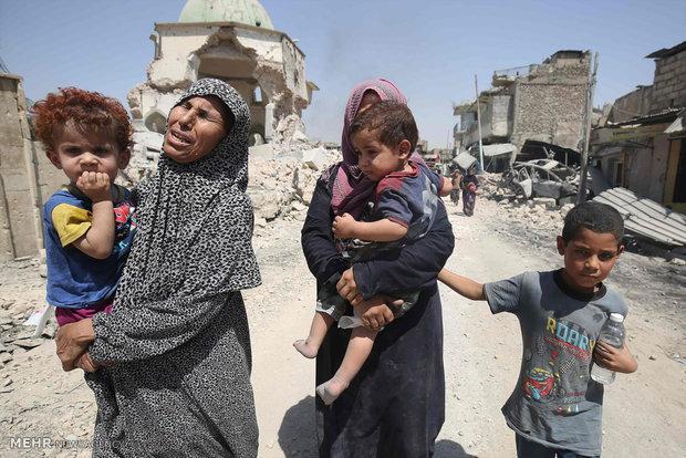 نجعمليات تحرير الموصل