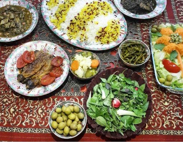 بانک اطلاعاتی غذاهای مازندران تهیه شده است