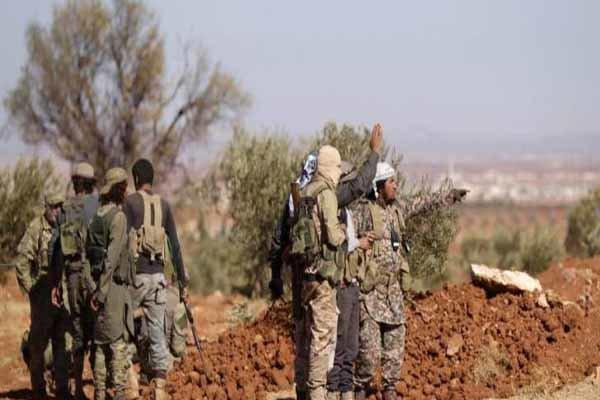 تحرکات گروههای سرسپرده ترکیه در شمال سوریه
