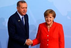 روایت برلین از رایزنی امروز اردوغان و مرکل