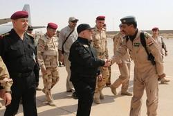 العبادي يصل الموصل لإعلان النصر الكامل