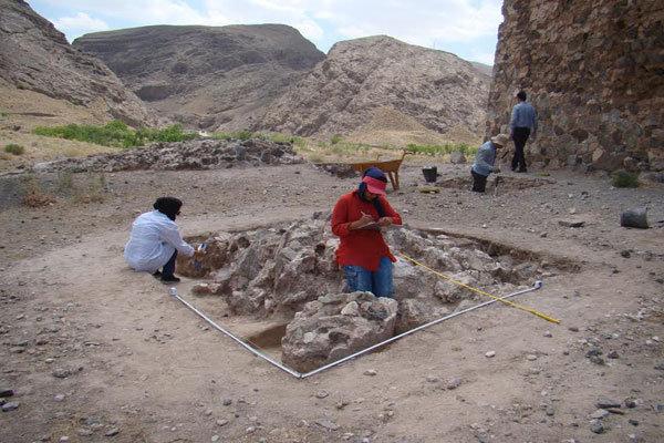 Sassanid-era pottery unearthed in Mashhad's Bazeh Hoor