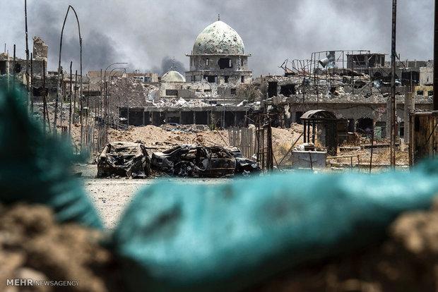 إنفجارات في الموصل بعد تحريرها من دنس داعش