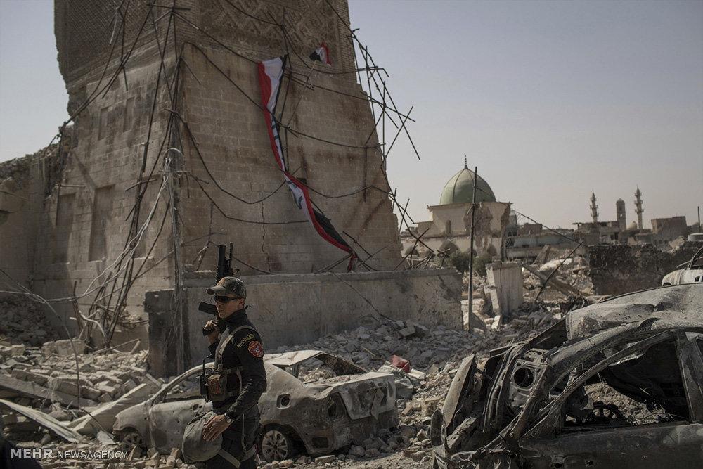 وسعت ویرانی ها در موصل