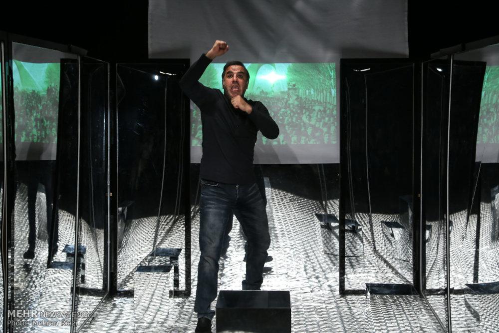 اجرای عکاسان نمایش مکعب