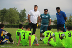 دیدار دوستانه تیم های فوتبال سپیدرود رشت و سایپا تهران