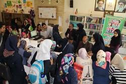 جشن کتابخوانی کانون پرورش فکری تبریز