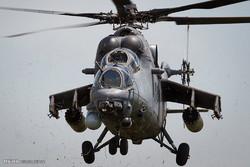 رزمایش نیروهای روسی با هلیکوپتر ام آی-35 ام