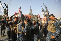 جشن پیروزی در موصل