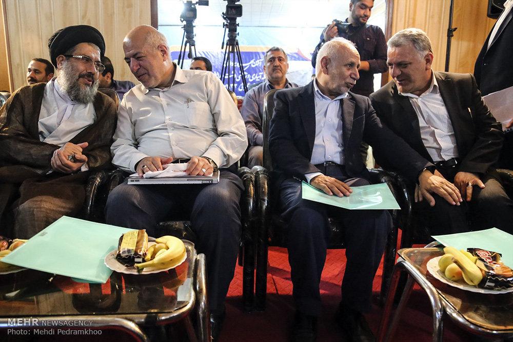 بهره برداری از ۱۰ پروژه عمرانی در استان خوزستان با حضور وزیر نیرو