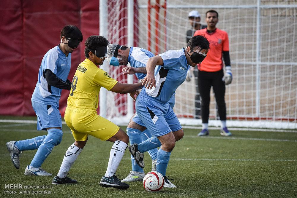 دهمین دوره مسابقات کشوری فوتبال نابینایان در شیراز