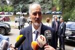 هیات دمشق به ریاست بشار الجعفری وارد ژنو شد