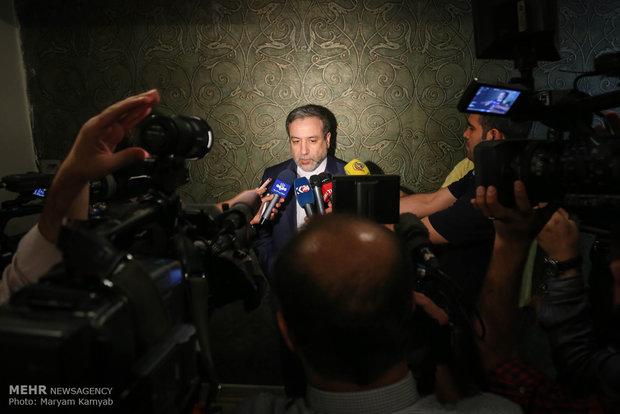 عراقجي : إيران تحتفظ في حقها بالرد على انتهاكات أميركا حيال الاتفاق النووي