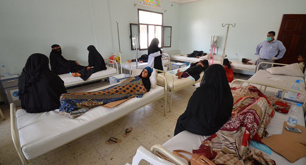 Yemen Cholera Outbreak Tops 300000 Suspected Cases: ICRC
