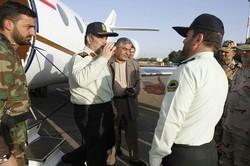 فرمانده انتظامی کشور به استان کرمانشاه سفر کرد