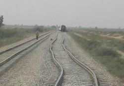 قطار مسافربری خرمشهر - تهران مجددا از ریل خارج شد