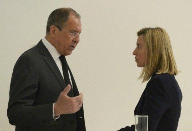 Federica Mogherini,Lavrov