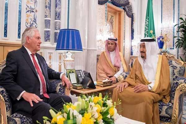 ریکس ٹلرسن نے سعودی عرب اور متحدہ عرب امارات کو قطر پر حملہ کرنے سےر وک دیا